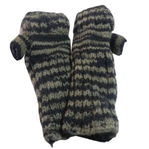 手袋 アジアン衣料 ネパール・ウール・アームウオーマー 7|e-bingo