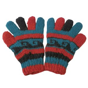 手袋 アジアン衣料 ネパール手編み手袋11|e-bingo