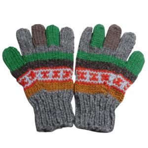 手袋 アジアン衣料 ネパール手編み手袋13|e-bingo