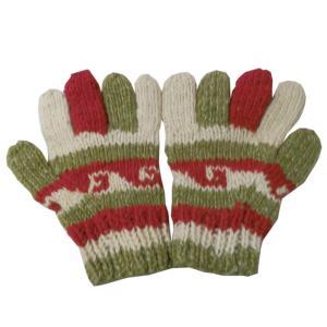 手袋 アジアン衣料 ネパール手編み手袋16|e-bingo