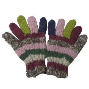 手袋 アジアン衣料 ネパール手編み手袋18|e-bingo