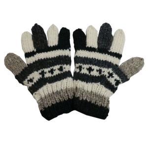 手袋 アジアン衣料 ネパール手編み手袋2|e-bingo