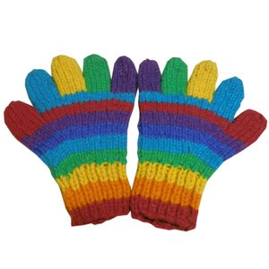 手袋 アジアン衣料 ネパール手編み手袋20|e-bingo