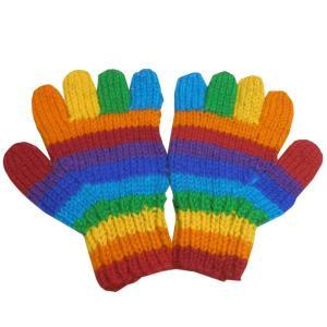 手袋 アジアン衣料 ネパール手編み手袋34|e-bingo