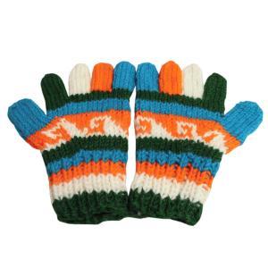 手袋 アジアン衣料 ネパール手編み手袋52|e-bingo
