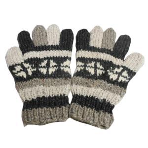 手袋 アジアン衣料 ネパール手編み手袋7|e-bingo