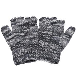 手袋 アジアン衣料 ネパール手編み指なし手袋29|e-bingo