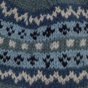 帽子 手編みの耳あて付きネパールの帽子11 e-bingo 02