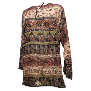 ブラウス アジアン衣料 ネパール・ブラウス2 クリックポスト選択 送料200円|e-bingo|02