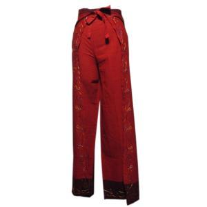 パンツ アジアン衣料 ネパール・コットン・ラップパンツ9 クリックポスト選択 送料200円|e-bingo
