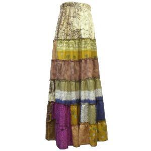 スカート アジアン衣料 ネパール・シルクカート16 クリックポスト選択 送料200円|e-bingo