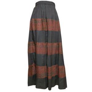スカート アジアン衣料 タイシルク・スカート2 クリックポスト選択 送料200円|e-bingo