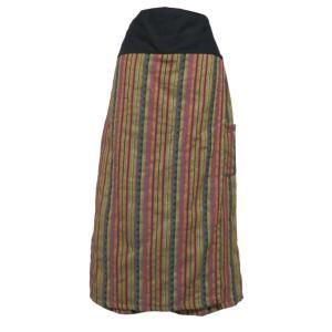 パンツ アジアン衣料 コットン・刺繍スカートパンツ3|e-bingo