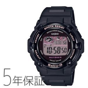 Baby-G ベビーG BGR-3000CB-1JF カシオ CASIO チェリーブロッサムカラーズ 電波ソーラー 夜桜 黒 ピンク 腕時計 レディース|e-bloom