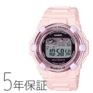 Baby-G ベビーG BGR-3000CB-4JF カシオ CASIO チェリーブロッサムカラーズ 電波ソーラー 桜 パステルピンク 腕時計 レディース|e-bloom