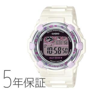 Baby-G ベビーG BGR-3000CBP-7JF カシオ CASIO チェリーブロッサムカラーズ 電波ソーラー 桜模様 ホワイト 腕時計 レディース|e-bloom