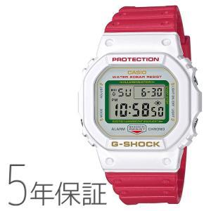 G-SHOCK Gショック DW-5600TMN-7JR カシオ CASIO MANEKINEKO 招き猫 ブラックアイパッチコラボ 白 ホワイト 腕時計 メンズ|e-bloom