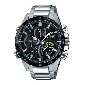 エディフィス EDIFICE EQB-501XDB-1AJF カシオ CASIO スマートフォンリンク機能 メタルバンド メンズ 腕時計 e-bloom