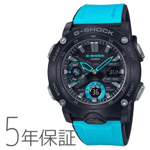 G-SHOCK g-shock Gショック GA-2000-1A2JF カシオ CASIO カーボンコアガードバンド ブルー 青 メンズ 腕時計|e-bloom