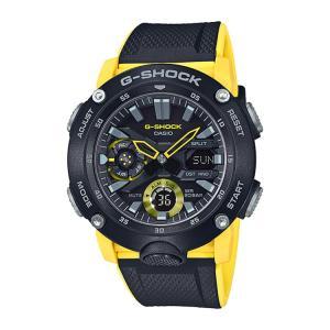 G-SHOCK g-shock Gショック GA-2000-1A9JF カシオ CASIO カーボンコアガードバンド イエロー メンズ 腕時計|e-bloom