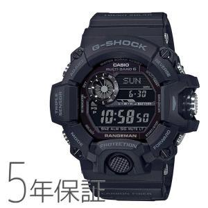G-SHOCK Gショック GW-9400J-1BJF カシオ CASIO ブラックアウト マスターオブG レンジマン 電波ソーラー 黒 腕時計 メンズ|e-bloom