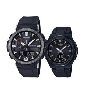 ペアウォッチ ペアセット PRO TREK/Baby-G プロトレック ベビーG ペア 腕時計 電波ソーラー PRW-60Y-1AJF/MSG-W200G-1A2JF CASIO カシオ KPAIR0059|e-bloom
