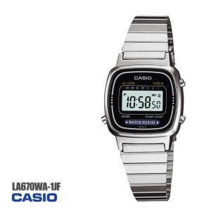 スタンダードカシオ CASIO レディースタイプ デジタル 腕時計 LA670WA-1JF 全国送料...