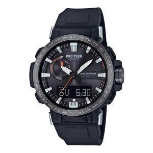 カシオ CASIO プロトレック PROTREK ソーラー電波 タフソーラー 10気圧防水 黒 腕時...