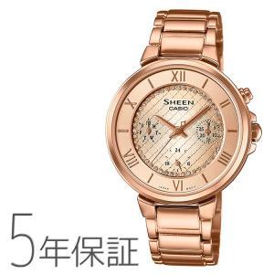 カシオ CASIO シーン SHEEN スワロフスキー SHE-3040GJ-9AJF 腕時計|e-bloom