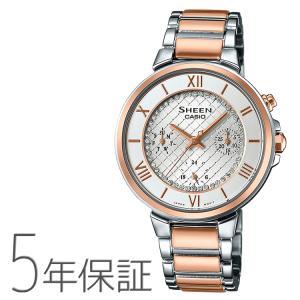 カシオ CASIO シーン SHEEN スワロフスキー SHE-3040SGJ-7AJF 腕時計|e-bloom
