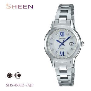 カシオ CASIO シーン SHEEN ソーラー充電 レディース 腕時計 SHS-4500D-7AJF|e-bloom