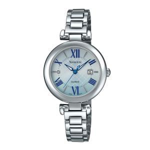 SHEEN シーン CASIO カシオ Solar Sapphire Model レディース ソーラー腕時計 SHS-4502D-2AJF|e-bloom