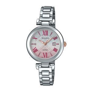 SHEEN シーン CASIO カシオ Solar Sapphire Model レディース ソーラー腕時計 SHS-4502D-4AJF|e-bloom
