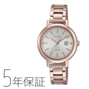 CASIO カシオ SHEEN シーン ソーラー 腕時計 レディース SHS-4525CG-4AJF|e-bloom