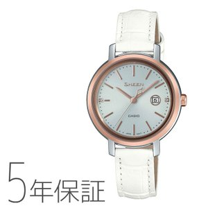 CASIO カシオ SHEEN シーン ソーラー 腕時計 本革 レディース SHS-4525PGL-7AJF|e-bloom
