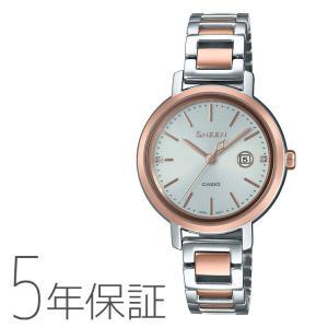 CASIO カシオ SHEEN シーン ソーラー 腕時計 レディース SHS-4525SPG-7AJF|e-bloom