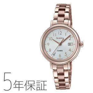 SHEEN シーン カシオ CASIO ソーラー 腕時計 レディース SHS-D100CG-7AJF|e-bloom