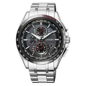 シチズン CITIZEN アテッサ ATTESA ワールドタイム電波時計 AT8144-51E 腕時計 e-bloom