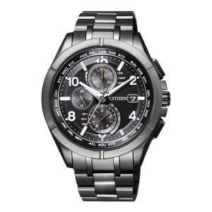 アテッサ ATTESA AT8166-59E シチズン CITIZEN ブラックチタニウムシリーズ ...