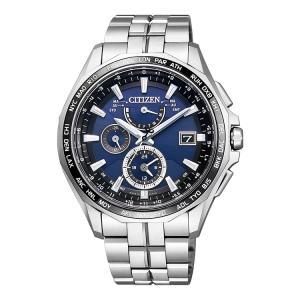 アテッサ ATTESA AT9090-53L シチズン CITIZEN エコドライブ電波時計 メタルバンド メンズ 腕時計 e-bloom