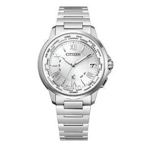 シチズン CITIZEN クロスシー XC エコ・ドライブ 電波時計 ハッピーフライト メンズ CB1020-54A 腕時計 e-bloom