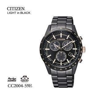 シチズン CITIZEN ライトインブラック サテライト F100 CC2004-59E 腕時計|e-bloom