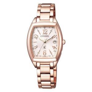 クロスシー xC ES9392-51W シチズン CITIZEN ハッピーフライト ピンクゴールド 電波ソーラー レディース 腕時計 e-bloom