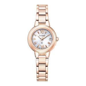 xC クロスシー ES9435-51A シチズン CITIZEN 電波ソーラー ハッピーフライト サクラピンク レディース 腕時計 e-bloom