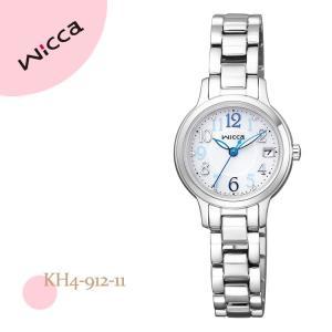 ウィッカ wicca KH4-912-11 シチズン CITIZEN ソーラー電池 メタルバンド レディース 腕時計|e-bloom
