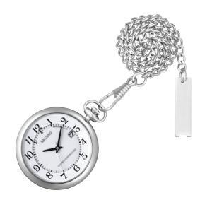 シチズン CITIZEN レグノ REGUNO 懐中時計 シルバー ステンレス ポケットウォッチ KL7-914-11 腕時計|e-bloom