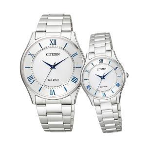 ペアウォッチ ペアセット Citizen Collection ペア 腕時計 白 ホワイト シチズンコレクション BJ6480-51B/EM0400-51B SPAIR0008|e-bloom