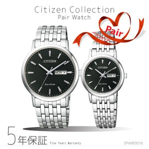 ペアウォッチ ペアセット Citizen Collection ペア 腕時計 黒 ブラック シチズンコレクション BM9010-59E/EW3250-53E SPAIR0016|e-bloom