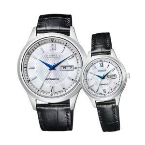 ペアウォッチ ペアセット Citizen Collection ペア 腕時計 機械式時計 革バンド シチズンコレクション NY4050-03A/PD7150-03A SPAIR0022|e-bloom