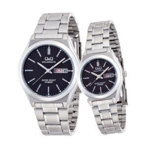 ペアウォッチ ペアセット Q&Q ペア 腕時計 Falcon ファルコン キューアンドキュー H010-202/H011-202 シチズン 取り寄せ SPAIR0059|e-bloom